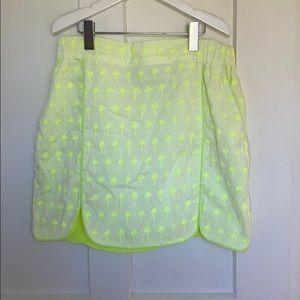 Karl Marc John Neon Palm Tree Skirt